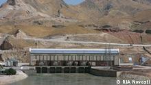 Sangtudin Hydropower Plant-1 on the Vakhsh River in Tajikistan. RIA Novosti August 2009