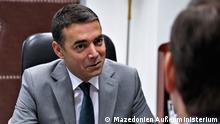 Mazedonien Besuch Wess Mitchell in Skopje | mit Nikola Dimitrov, Außenminister