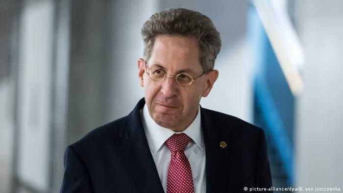 Berlin Hans-Georg Maaßen nach dem Parlamentarischen Kontrollgremium