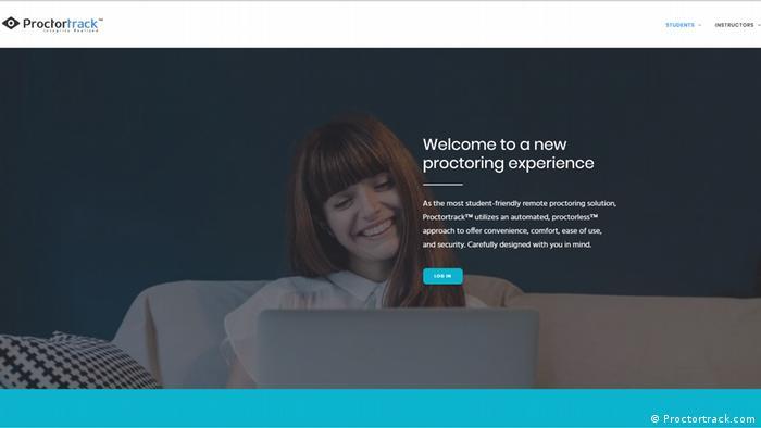 Screenshot HP Proctortrack
