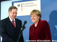 Ханс-Георг Масен и Ангела Меркель