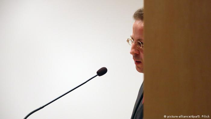 Hans-Georg Maaßen Cyberspionage in Deutschland (picture-alliance/dpa/S. Pilick)