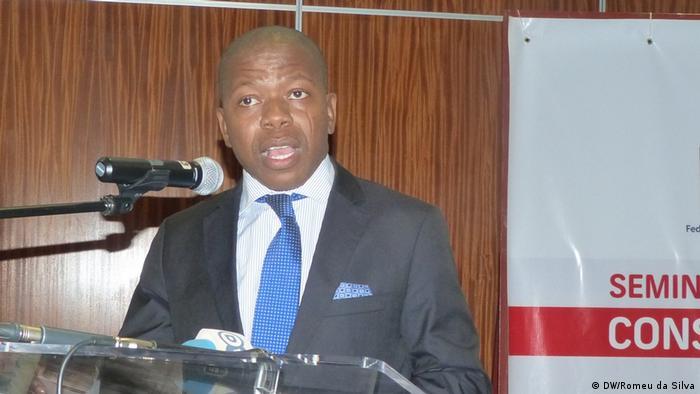 Agostinho Vuma foi baleado em 11 de julho deste ano (foto de arquivo)
