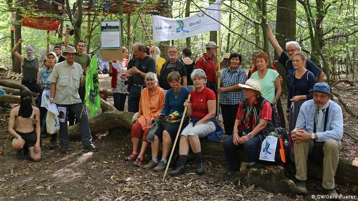 Hambacher Forst (DW/Gero Rueter)