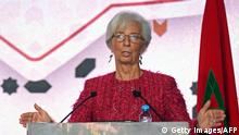 Christine Lagarde in Marokko