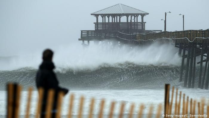 USA Atlantic Beach Hurrikan Florence (Getty Images/C. Somodevilla)