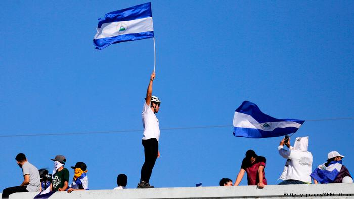 Nicaragua Proteste in Managua (Getty Images/AFP/I. Ocon)