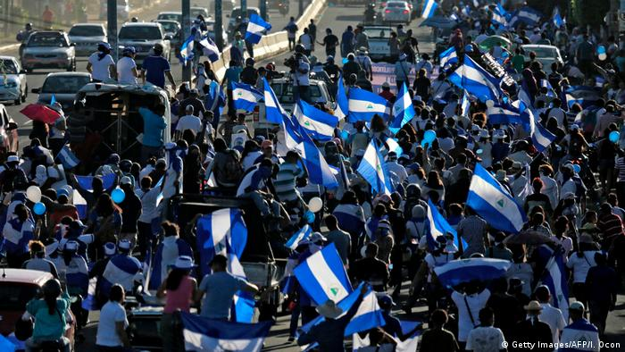 Nicaragua Proteste in Managua