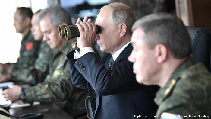 Russland Wladimir Putin, Präsident (picture-alliance/Zuma Press/Planet Pix/A. Nikolsky)