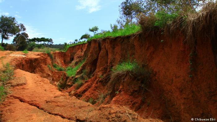 DW eco@africa - soil erosion in Nigeria