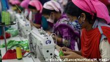 Bangladesch Textilfabrik in Dhaka | Arbeiterinnen