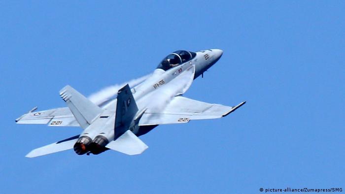 Kampfjet Boeing F/A-18E/F Super Hornet (picture-alliance/Zumapress/SMG)