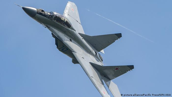 Kampfjet Mikoyan MiG-35 can (picture-alliance/Pacific Press/SIPA ASIA)