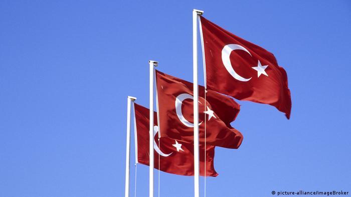 Türkei Nationalflaggen