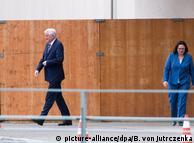 Горст Зеегофер (ліворуч) та Андреа Налес розійшлися в оцінці діяльності екс-шефа контррозвідки Маасена
