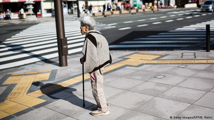 Japonya'da yüz yaşını aşanların sayısı 70 bin oldu