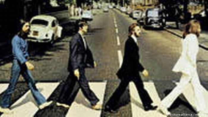 Cover of the Beatles Album Abbey Road (picture-alliance / maxppp)