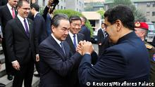 China Nicolas Maduro zu Besuch in Peking