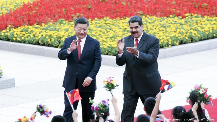 China Staatsbesuch Nicolas Maduro (picture-alliance/Xinhua/Y. Dawei)