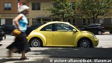 Automobil VW Beetle (picture-alliance/dpa/A. Glanzman)