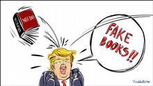 Karikatur von Vladdo Fake Books