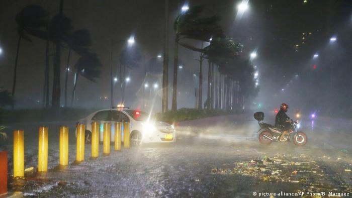Phillippinen Taifun Mangkhut