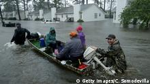 USA Hurrikan Florence in North Carolina