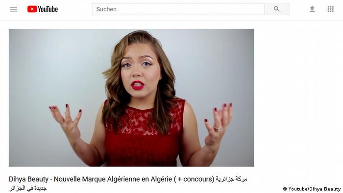 8b8701b04d44f Screenshot Dihya Beauty - Nouvelle Marque Algérienne en Algérie ( +  concours) (Youtube