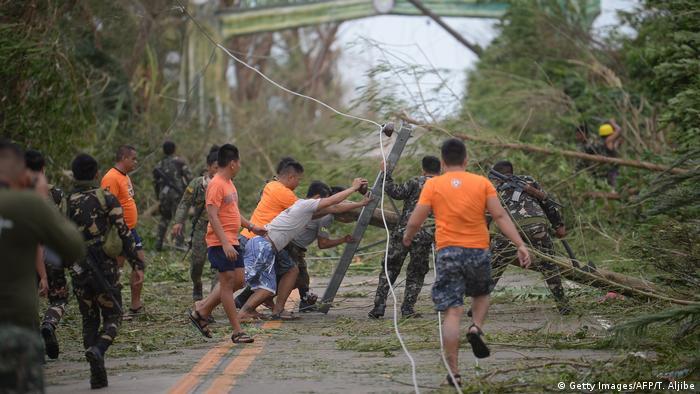 Philippinen Taifun Mangkhut