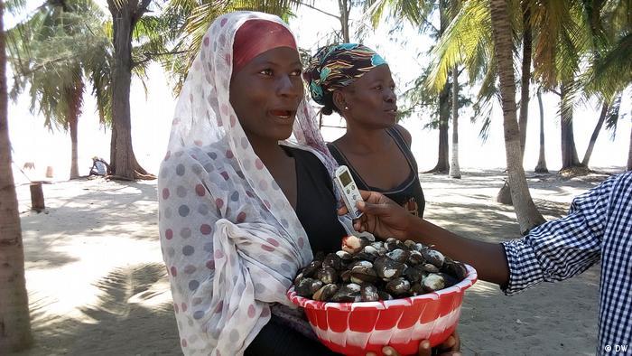 Mosambik Praia do Wimbe
