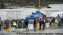 Türkei Protest gegen die Arbeitsbedingungen auf der Baustelle des neuen Flughafens in Istanbul