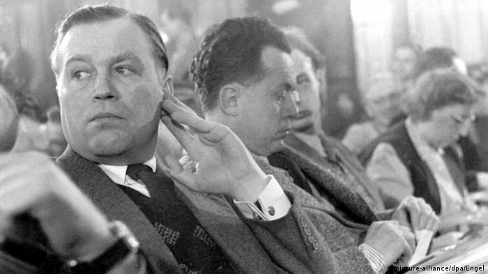 Deutschland Verfassungsschutz | Otto John, ehemaliger Präsident (picture-alliance/dpa/Engel)