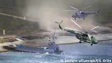 Russland Militärmanöver Wostok