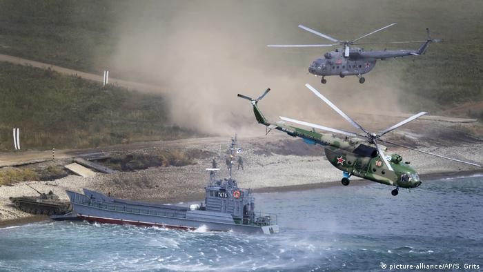 Армейские учения в России (фото из архива)