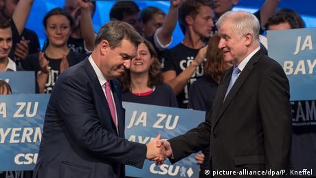 Γερμανία: Επίδειξη (δυσ)αρμονίας στο CSU ενόψει εκλογών