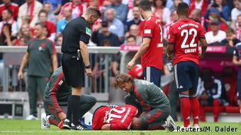 Bundesliga 3. Spieltag | Bayern München vs. Bayer 04 Leverkusen | Corentin Tolisso (Reuters/M. Dalder)