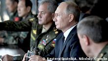 Russland Vostok 2018 War Games | Russland Wladimir Putin, Präsident