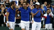 Tennis Davis Cup - Frankreich - Spanien