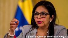 Venezuela Außenministerin Delcy Rodriguez