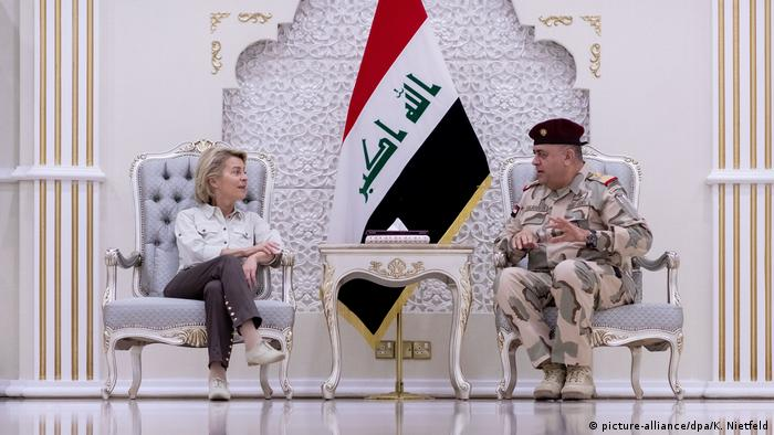 Bagdad von der Leyen im Irak
