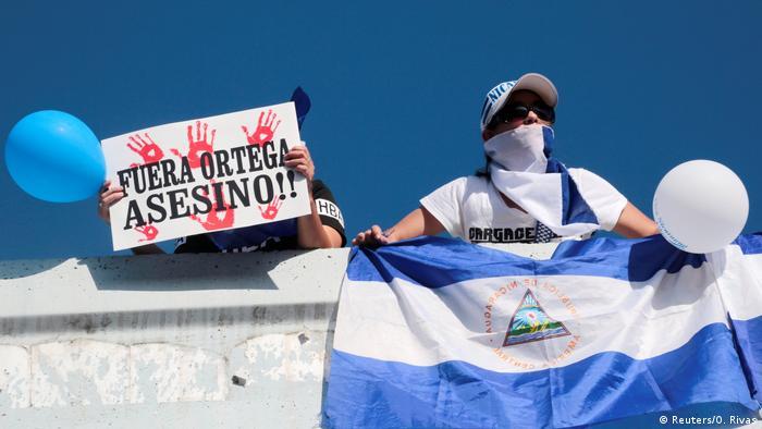 Nicaragua Anti Regierungsproteste (Reuters/O. Rivas)