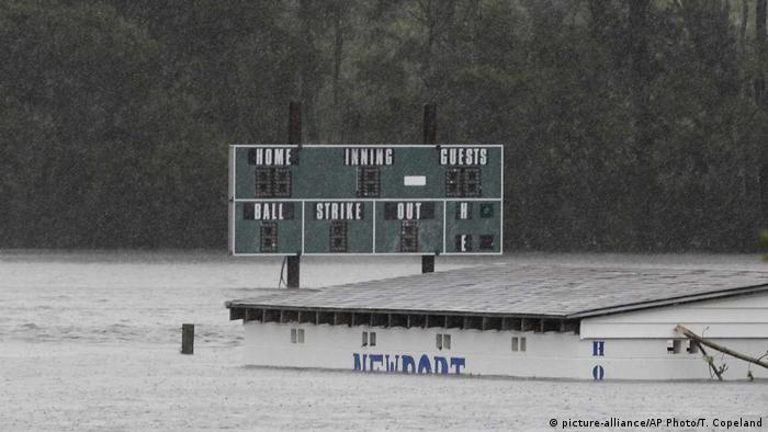 USA North Carolina Tropensturm Florence