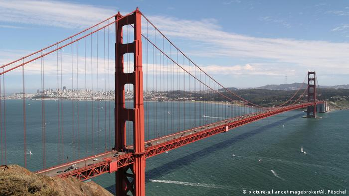 San Francisco's Golden Gate Bridge (picture-alliance/imagebroker/Al. Pöschel)