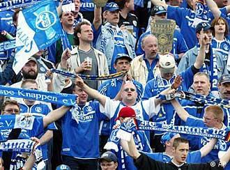 Die Nordkurve auf Schalke
