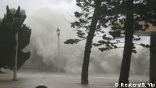 Hongkong Taifun Mangkhut