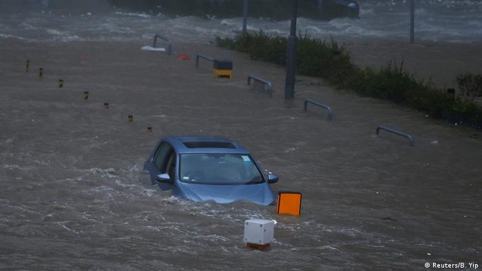 Через негоду в Гонконгу затоплені деякі райони