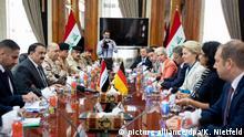 Verteidigungsministerin Ursula von der Leyen zu politischen Gesprächen in Bagdad