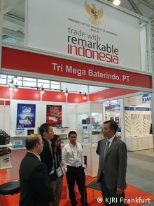 Deutschland Indonesien-Ausstellung in Automechanika 2018, Frankfurt Messe (KJRI Frankfurt)