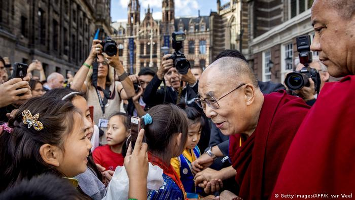 Der Dalai Lama im September in Amsterdam