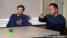 Russland Interview von Alexander Petrov und Ruslan Boshirov bei RT